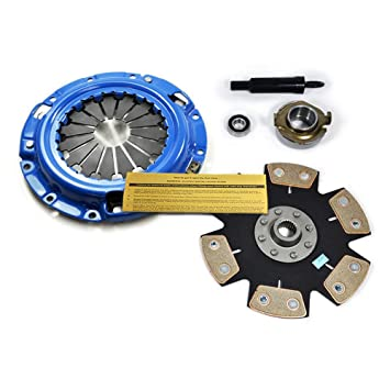 Amazon.com: EFT STAGE 4 HD CLUTCH KIT for 1983-1992 MAZDA 626 MX-6 2.0L 2.2L: Automotive