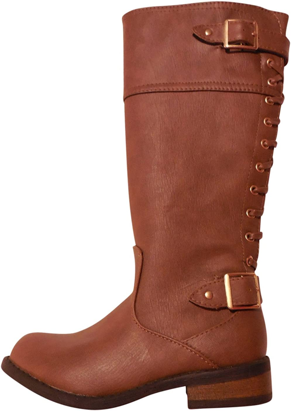 Justice Girls Brown Fashion Boot