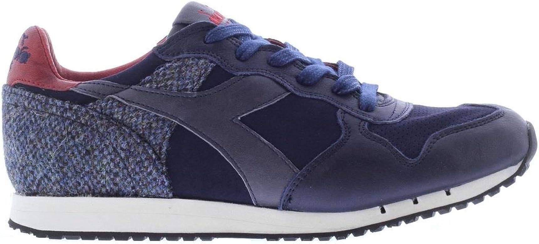 Scarpa Diadora uomo Trident Tweed Pack 172536 Blue Corsair 60063 Pelle fw 17/18 7½: Amazon.es: Zapatos y complementos