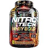 Muscletech Mezcla de Proteínas y Aminoácidos Nitro-Tech Whey Gold, Chocolate Peanut Butter, 5.53 Lb