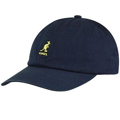 Kangol Washed Baseball Gorra de béisbol, Azul (Navy NV411), Talla ...