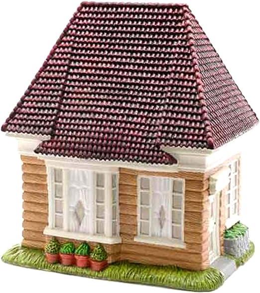 Bloom its Mini Jardín Casa de Madera 21 x 17 x 13 cm Mini Jardín Decoración en Miniatura: Amazon.es: Jardín