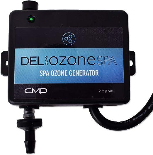 Delo Zona APG U 120/240 V Generador de Ozono Agua Cuidado Agua Tratamiento Whirlpool Jacuzzi accesorios TÜV CE salpicaduras: Amazon.es: Jardín