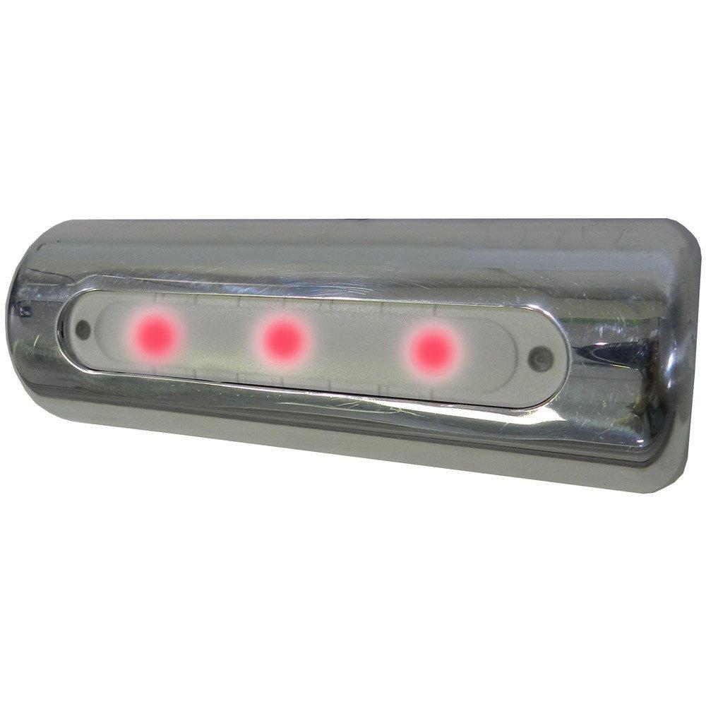 TACO LED Deck Light - Pipe Mount - Red LEDs