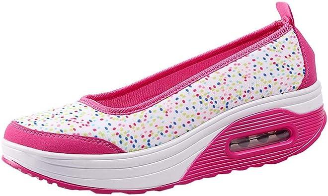 Logobeing Zapatos Zapatillas Respirable Mocasines Deportes Mujer ...
