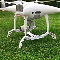 Drone Fans Heightened Landing Gear Stabilizers Landing Skid + Gimbal Camera Guard Protection Board for DJI Phantom 4PRO/ 4PRO+