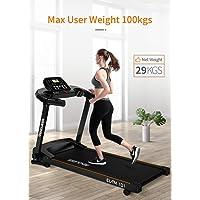 Endless TM-101 Blend (2.0 HP Peak) Motorized Treadmill-Max Speed 12KM/HR (Black)
