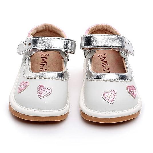 Amazon.com: UBELLA Zapatillas de chirriar para niña Princesa ...