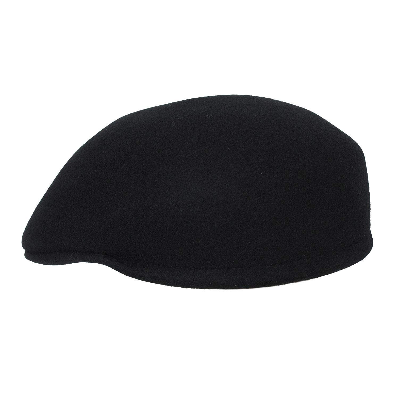 c70f0688 Levine Hat 9th Street Seville British Dome Ascot Cap 100% Wool at Amazon  Men's Clothing store: