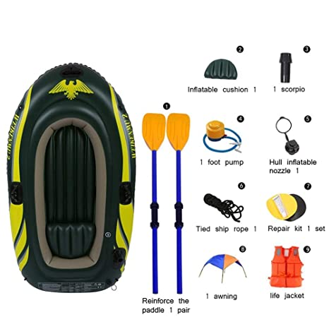 Challenger Kayak - Juego de Kayak Inflable Plegable For 2 ...
