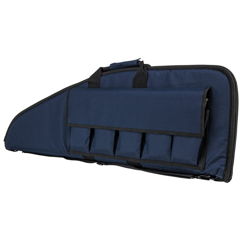 NcSTAR NC Star CVBL2907-36, 2907 Series Rifle Case, Length, 13'' Height, Blue W/Black Trim, 36'' by NcSTAR