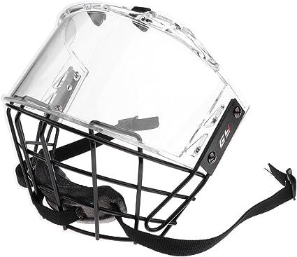 MonkeyJack CE Certification Impact Resistance Anti-Fog Ice Hockey Face Shield Mask Cage Visor Mounting Hardware Included