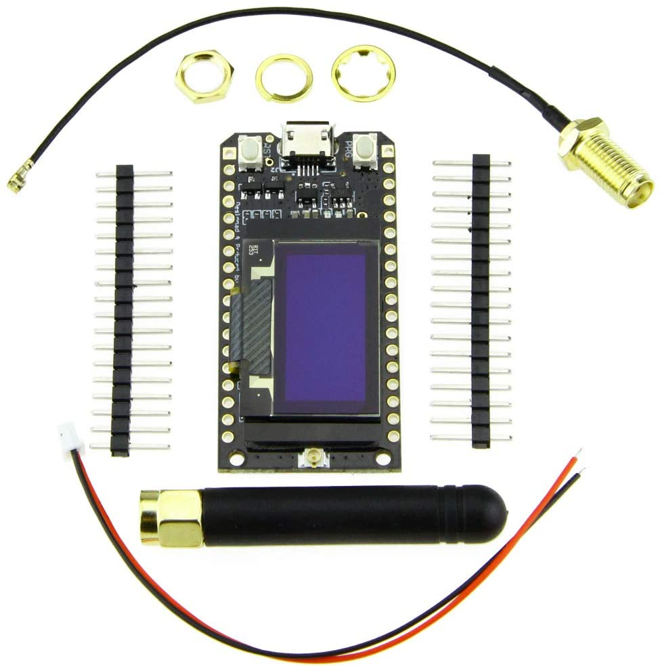 Paxcounter LoRa32 V2.1/_1.6 Version 868//915MH LoRa ESP-32 OLED 0.96 Inch SD Card Bluetooth WiFi Module SMA TTGO ESP32