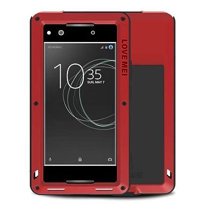 Amazon.com: Sony Xperia XA1 Ultra carcasa metálica, cheetop ...