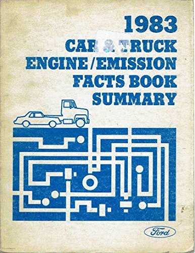 1983 Ford Car & Truck Engine/Emission Fact Book Summary ()