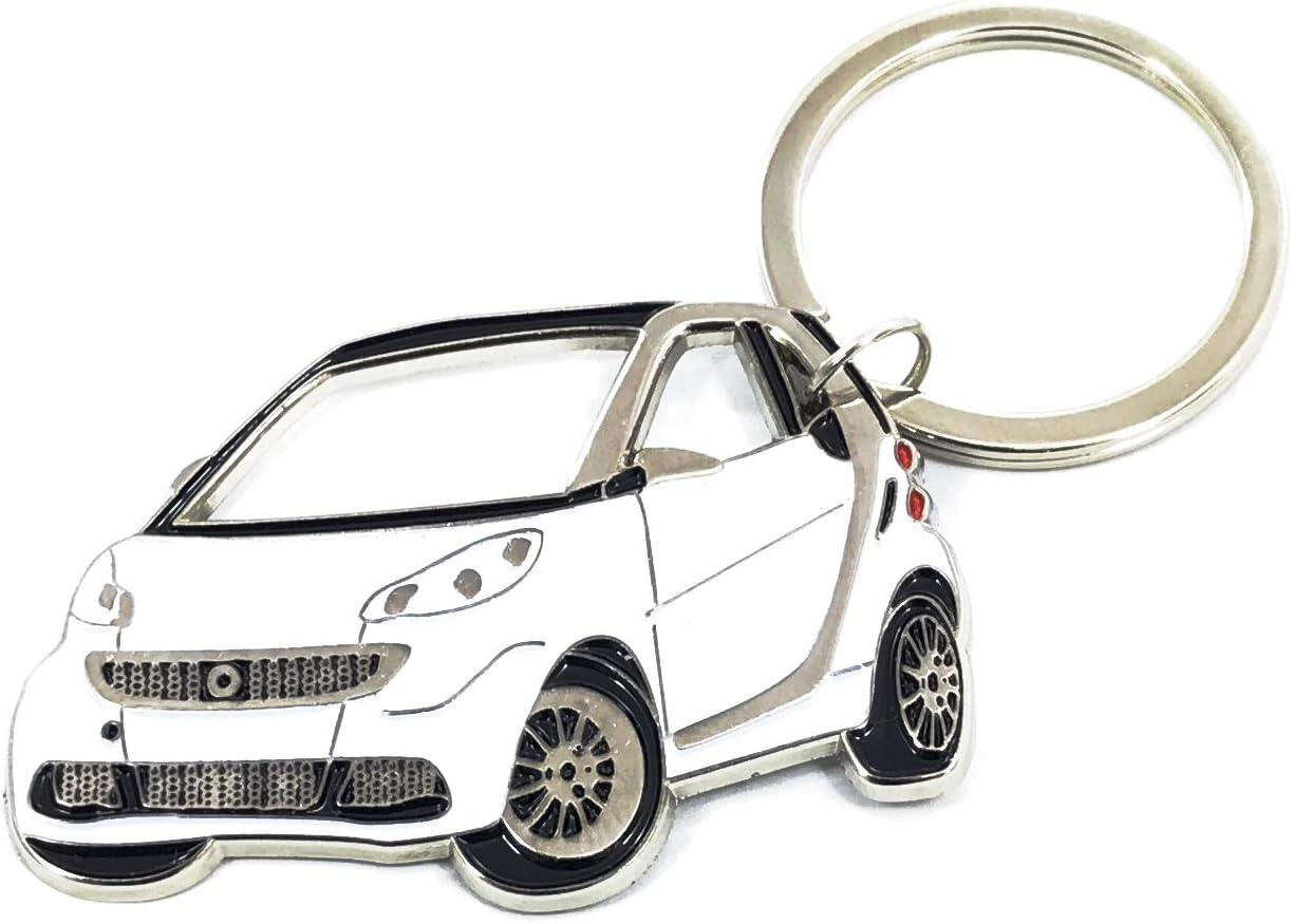 DUOYUAN TRADE LTD Portachiavi in Metallo per Auto a 360 Gradi