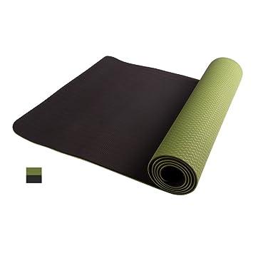 Tasteless Yoga Mat, 183cmX61cmX6mm Yoga Mat, Estera de ...