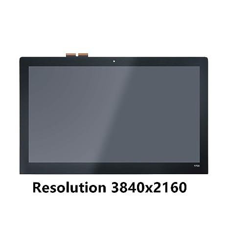FTDLCD 15.6 FHD UHD LCD Pantanlla Táctil Digitalizador Asamblea Repuesto de Ordenador Portátil LQ156D1JX03