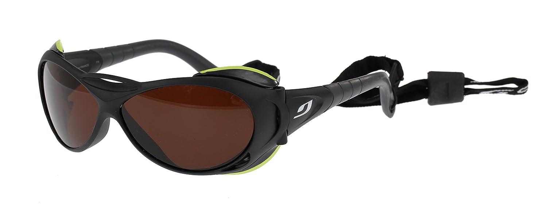 Julbo Explorer negro gafas de sol, polarizadas marrón lentes categoría 4, tamaño grande: Amazon.es: Deportes y aire libre