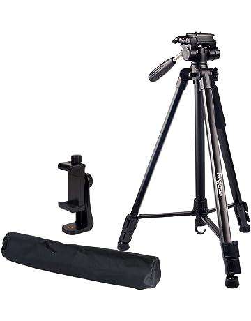 amazon tripods professional video accessories electronics USB Web Camera regetek travel camera tripod aluminum 63 adjustable camera stand with flexible head