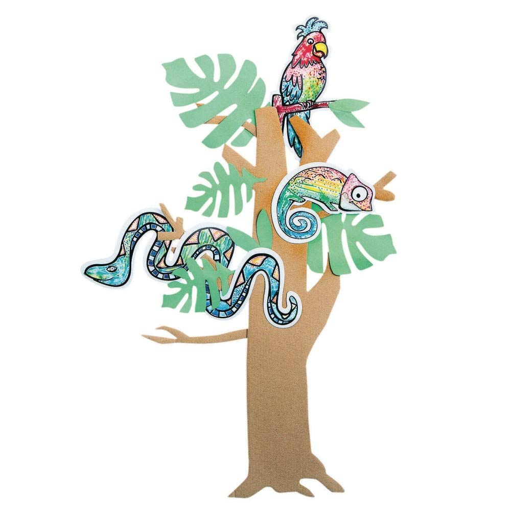 Paint-a-Dota, Rainforest Animals Craft Kit (Pack of 24)