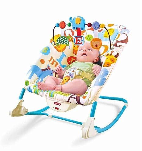 WY-Tong silla bebe Silla mecedora de bebé, luz plegable ...