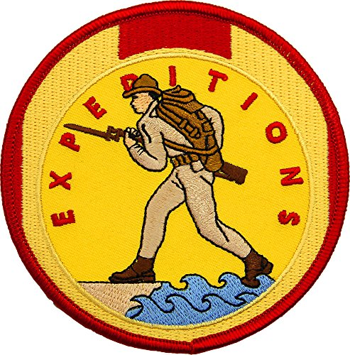 Marine Expeditionary Medal (Marine Corps Expeditionary Medal Patch Full Color)