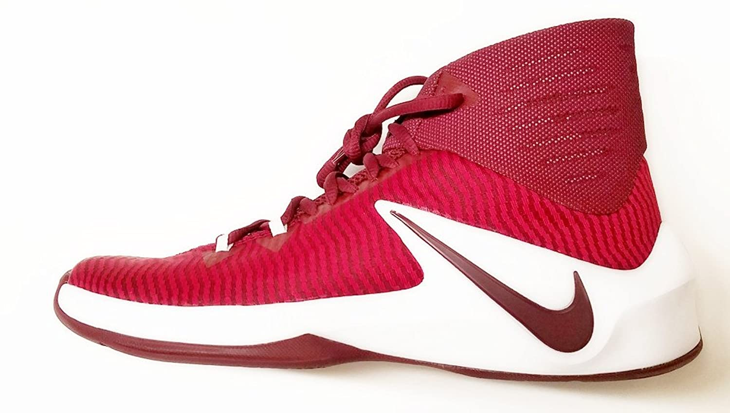 half off 81624 dbe51 Nike Men s Zoom Clear Out TB Basketball Shoes Maroon 844372 667 Size 10.5  lovely