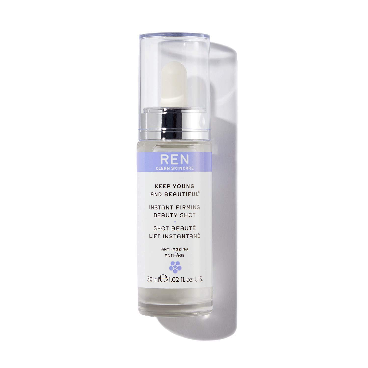 Amazon Com Ren Clean Skincare Keep Young And Beautiful Instant Firming Beauty Shot 1 Fl Oz Premium Beauty