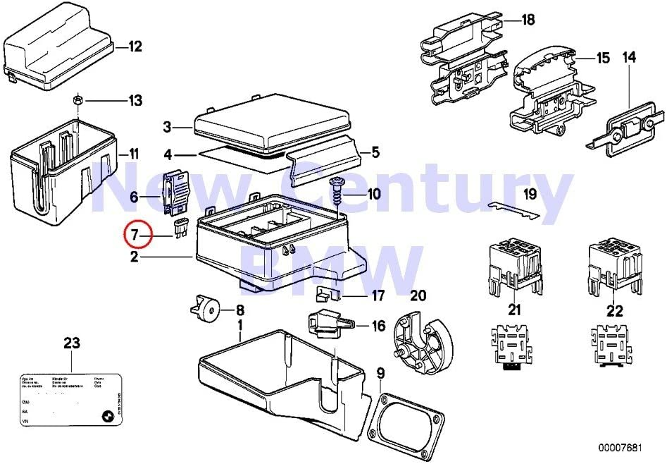 318ti fuse box amazon com bmw genuine fuse box single components for fuse box  amazon com bmw genuine fuse box single