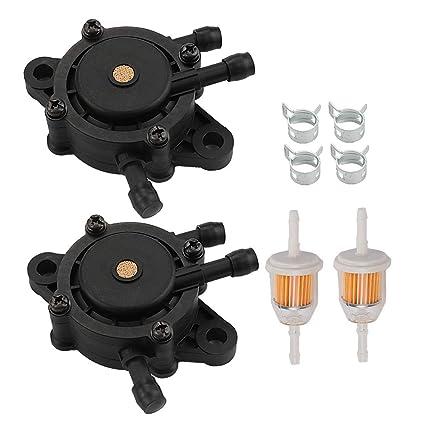 Amazon.com: Allong Pack de 2 filtros de combustible para ...