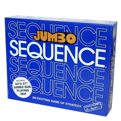 Jumbo Sequence Board Game - Includes Bonus Deck of Cards! ()
