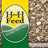 All Natural Premium Game Bird Feed Freshly Milled: Non-GMO, Soy free, Corn free, with Organic Fertrell vitamins and minerals (20lb)