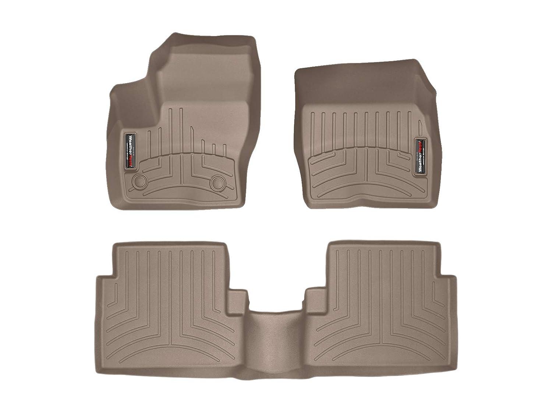 WeatherTech Custom Fit Front FloorLiner for Ford Escape Tan