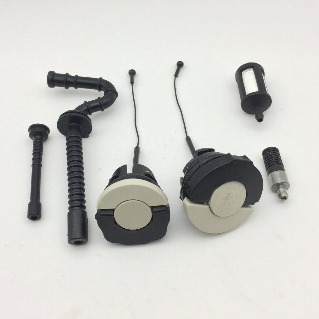 joyMerit PACK Von Gas//Heiz/öl Caps Line Tube /& Filter F/ür STIHL 021 023 025 MS210