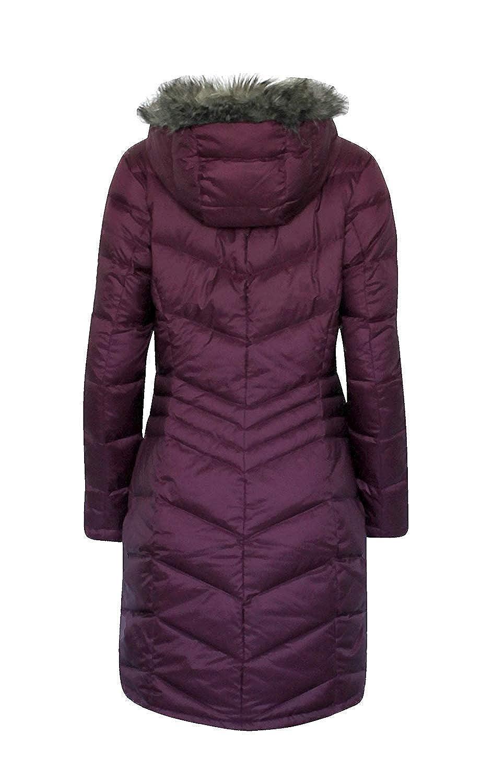 Amazoncom Columbia Women Polar Freeze Long Down Jacket Omni Heat