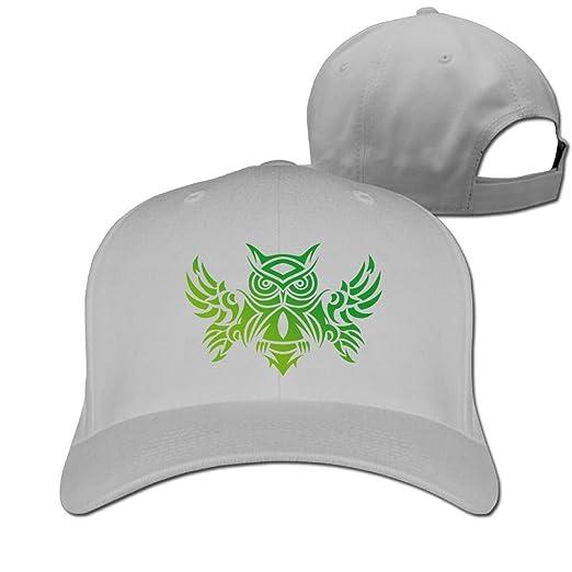 Hizf Cap Tribal Owl Tattoo Design Men Popular Cozy Peaked Hat Cap At
