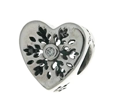7571114c1 ... coupon code for pandora snowflake heart charm clear cz 796359cz 8626e  5c300 ...