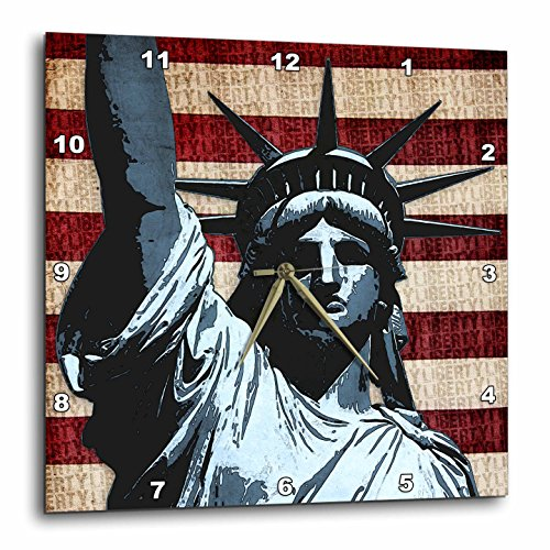Liberty Flag Patriotic Statue of Liberty with American Flag