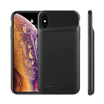 FAMOBIE Funda Bateria para iPhone X/iPhone XS 4000mAh ...