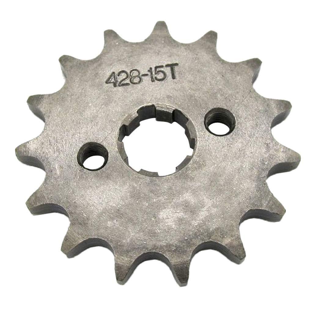 18T Z/ähne 17mm 428 B Blesiya 1-teiliges Kettenrad mit Kettenrad Kettens/ätze f/ür 110ccm 125ccm 140ccm Pit PRO Pit Bike Trail Dirt Bike Thumpstar