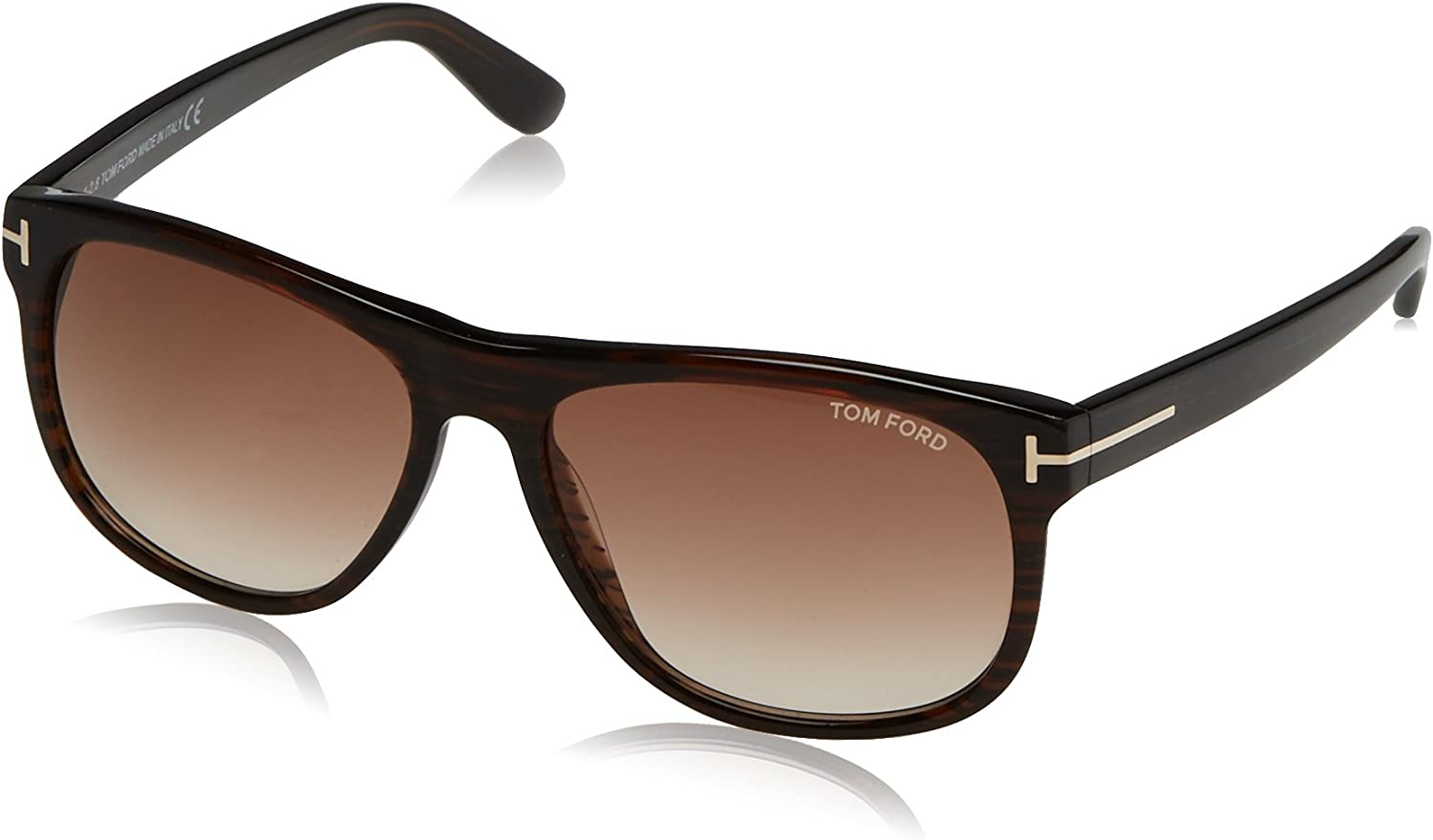 Brown Gradient Sunglasses TF236 50P Tom Ford Olivier Brown