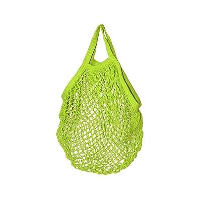 Filet à provisions - Cabas en coton Bio - 45x45cm - Vert Anis ... d50facda28b0