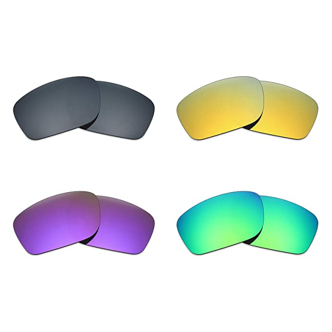 39010f5173a Image Unavailable. Image not available for. Color  Mryok 4 Pair Polarized  Replacement Lenses for Oakley Mainlink Sunglass ...
