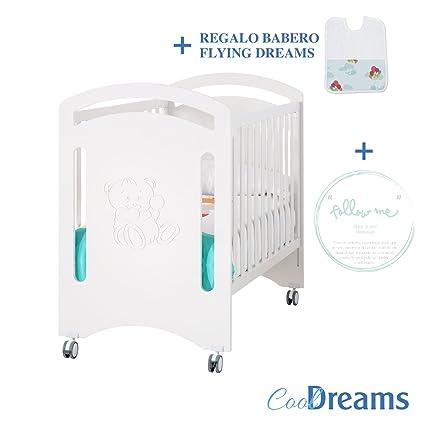 Cuna colecho de bebe Yara + Kit colecho incluido + kit follow me + ruedas +