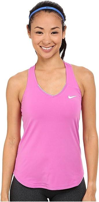 traqueteo trapo Afirmar  Nike Pure Women's Outerwear Tank, Womens, Pure Tank Women: Amazon.co.uk:  Clothing
