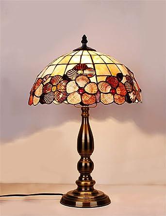 Echo Times Lámpara de mesa Tiffany de 12 pulgadas Lámpara de mesa ...
