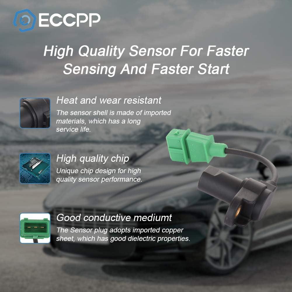 ECCPP Camshaft Position Sensor Fit for 2001-2006 Hyundai Santa Fe//1999-2005 Hyundai Sonata//2003-2008 Hyundai Tiburon//2005-2009 Hyundai Tucson//2001-2005 Kia Optima//2005-2010 Kia Sportaget