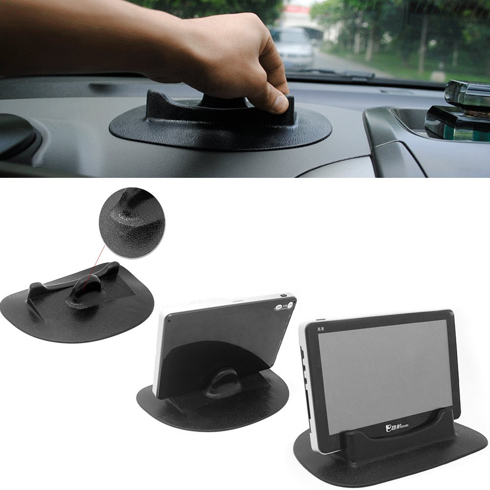 in Car Dashboard Anti Slip Smart Stand Mount Holder Silicone Mat Pad for PSP GPSTablet Mobile Phone iPhone PDA by HitCar Larger Size