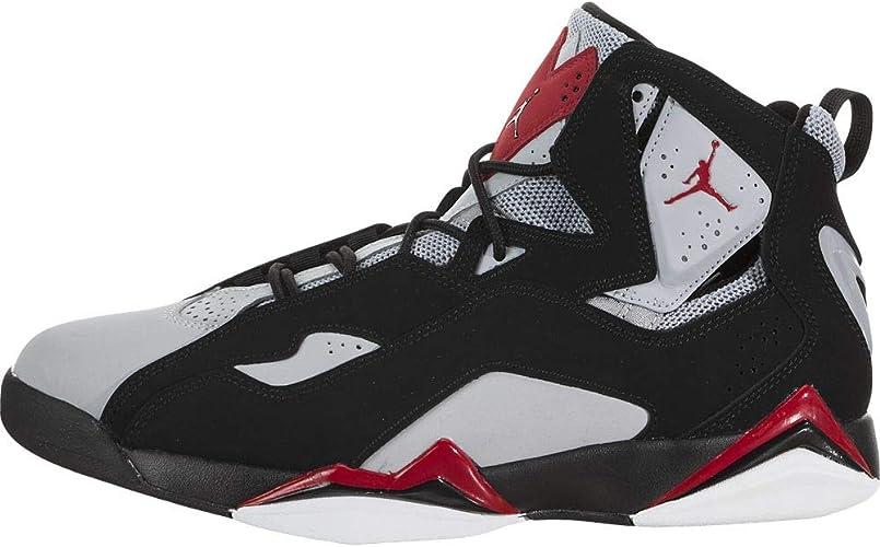 Jordan True Flight Black/Varsity Red